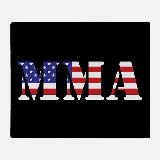 USA MMA Throw Blanket