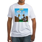 Turkey Referee Disguise Fitted T-Shirt