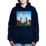 Turkey Referee Disguise Women's Hooded Sweatshirt