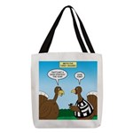 Turkey Referee Disguise Polyester Tote Bag