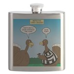 Turkey Referee Disguise Flask