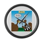 Turkey Referee Disguise Large Wall Clock