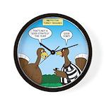 Turkey Referee Disguise Wall Clock