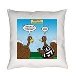 Turkey Referee Disguise Everyday Pillow
