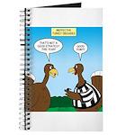 Turkey Referee Disguise Journal