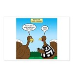 Turkey Referee Disguise Postcards (Package of 8)