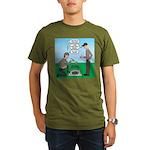 Grilled Pancakes Organic Men's T-Shirt (dark)