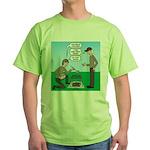 Grilled Pancakes Green T-Shirt