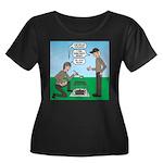 Grilled Women's Plus Size Scoop Neck Dark T-Shirt