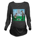 Grilled Pancakes Long Sleeve Maternity T-Shirt