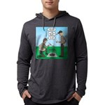 Grilled Pancakes Mens Hooded Shirt