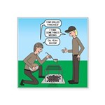 Grilled Pancakes Square Sticker 3