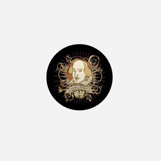 Shakespeare Crest Mini Button