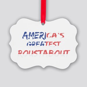 America's Greatest Roustabout Picture Ornament