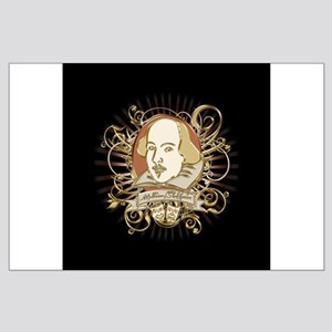 Shakespeare Crest Large Poster