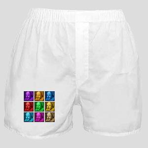 Shakespeare Pop Art Boxer Shorts