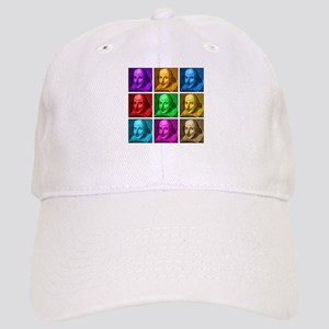 Shakespeare Pop Art Cap