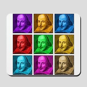 Shakespeare Pop Art Mousepad