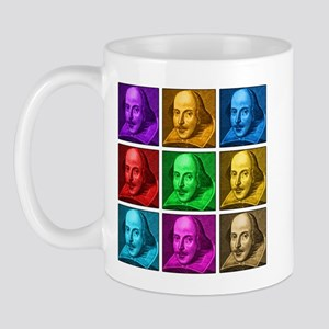 Shakespeare Pop Art Mug