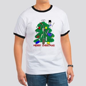 Nurse Christmas Ringer T