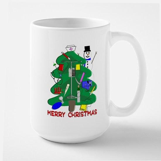 Nurse Christmas Large Mug