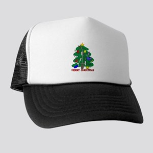 Nurse Christmas Trucker Hat
