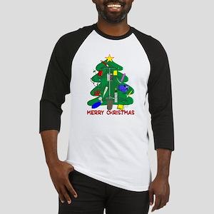 Nurse Christmas Baseball Jersey