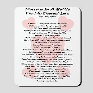 Message In A Bottle Mousepad