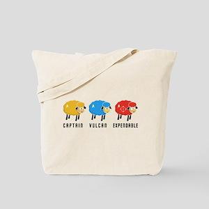 Star Trek Sheep Tote Bag