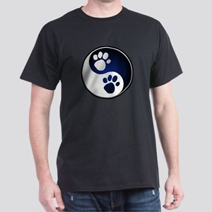 Paw Ying Yang Dark T-Shirt