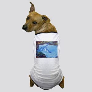 Dolphin Art Dog T-Shirt