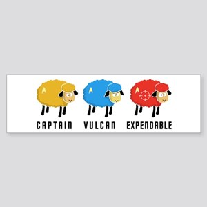 Star Trek Sheep Sticker (Bumper)