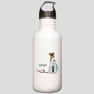 Fox Terrier Walk Stainless Water Bottle 1.0L