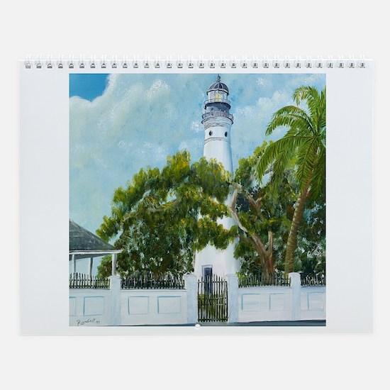 Key West Lighthouse Wall Calendar