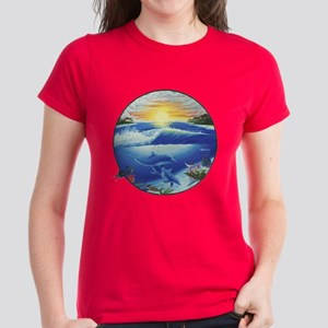Dolphin Women's Dark T-Shirt