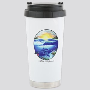 Dolphin Stainless Steel Travel Mug