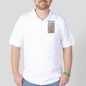 Turtle Hatchlings Golf Shirt