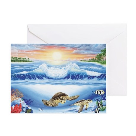 Turtle Haven Greeting Cards (Pk of 20)