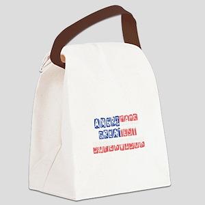 America's Greatest Supervisor Canvas Lunch Bag
