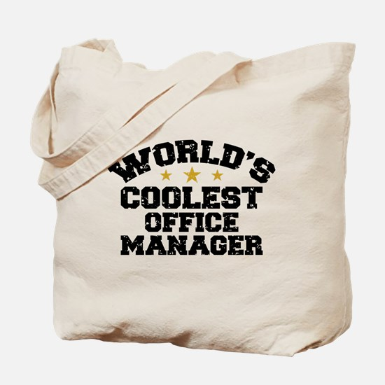 Coolest Office Manager Tote Bag