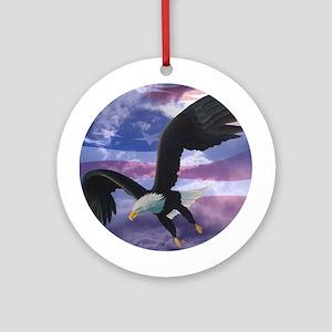 Freedom Eagle Ornament (Round)