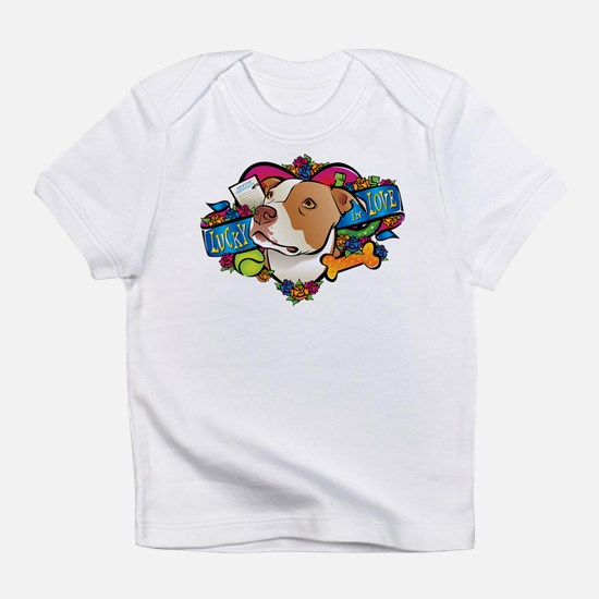Lucky in Love Infant T-Shirt