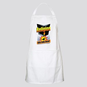 Religion: Kills Folks Dead! Apron