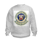 NAVAL SECURITY GROUP, TODENDORF Kids Sweatshirt