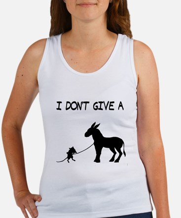 I Don't Give A Rat's Ass Women's Tank Top