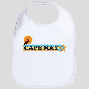 Cape May NJ - Beach Design Bib
