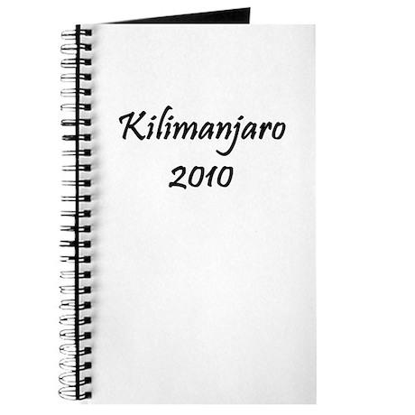 Kilimanjaro 2010 Journal