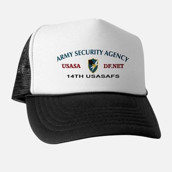 14th USASAFS Japan Trucker Hat