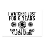 Lousy Ending Postcards (Package of 8)