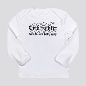 Crib Fighter Cage Long Sleeve Infant T-Shirt